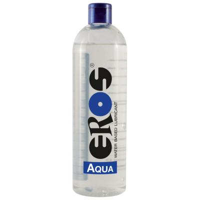 EROS AQUA Water Based Lubricant Bottle 500 ml ER33500 4035223335000