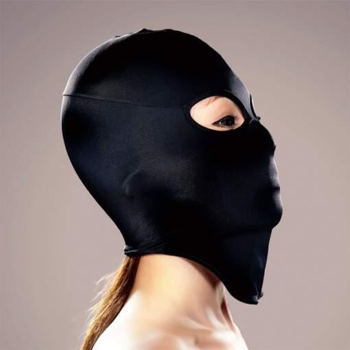 EXECUTE Face Mask Eye Holes Black M L MK004 4573103500044 Side Detail