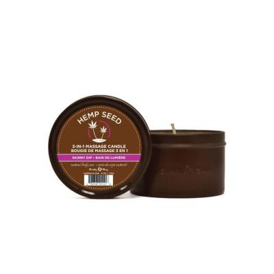 """Earthly Body 3-in-1 Massage Candle """"Skinny Dip"""""""
