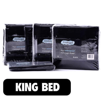 King Size Waterproof Fitted Bed Sheet