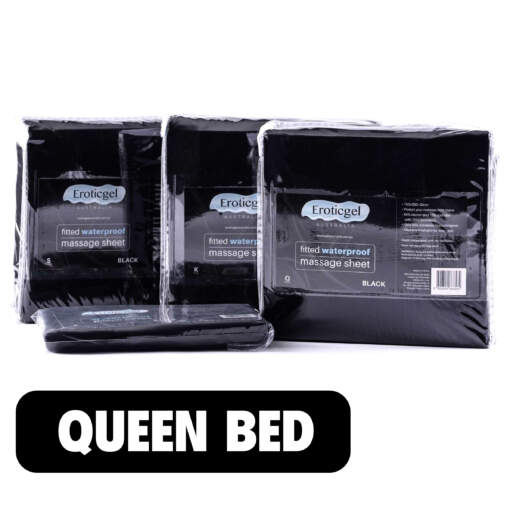 Queen Size Waterproof Fitted Bed Sheet