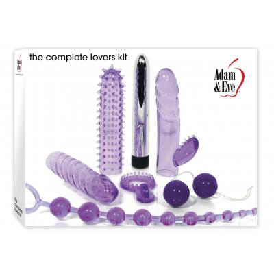 Evolved Novelties Adam and Eve The Complete Lovers Kit Purple AE EQ 6642 2 844477006642 Boxview