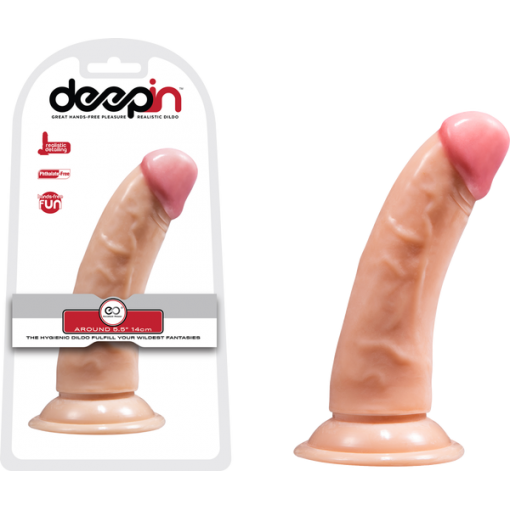 Excellen Power Deepin 5 point 5 Inch Realistic Dong Light Flesh F06L011A00 051 4897078629402 Multiview
