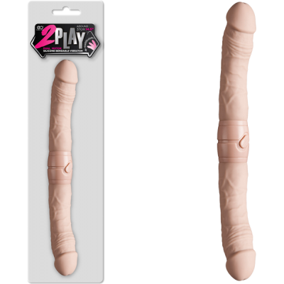 Excellent Power 2 Play Vibrating Double Dong Light Flesh FPBJ073A00 001 4897078623790 Multiview
