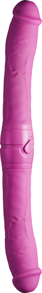 Excellent Power 2 Play Vibrating Double Ender Dong Pink FPBJ074A00-027 4897078623844