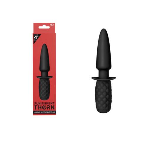 Excellent Power Punishment Thorn Butt Plug Probe Black F06J100A00-010 4897078625589