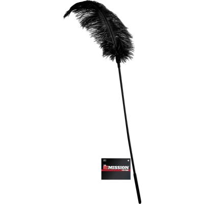 Excellent Power Sex Mission Fetish Feather Stick Black FNI007A000 010 4897078623639 Detail