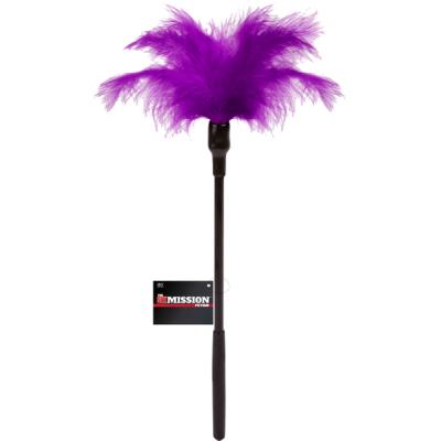 Excellent Power Sex Mission Fetish Large Feater Tickler Stick Purple FNI006A000 022 4897078623714 Detail