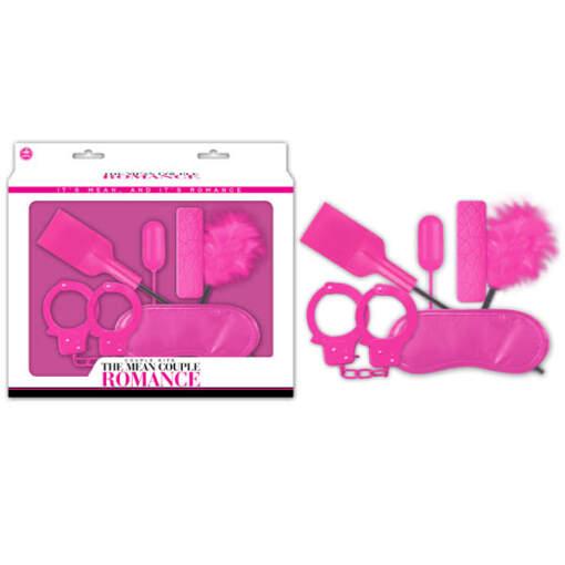 FKI023A000-027 - Excellent Power - Pink Bondage Kit - 5 Piece Set - 4892503164954