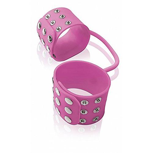 Fetish Fantasy Elite Silicone Cuffs Pink PD4570-11 603912311525