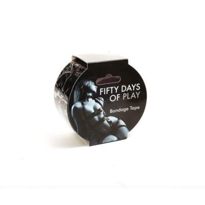 Fifty Days of Play Bondage Tape 20 metre Black FIFTYDAYTAPE 847878001476 Boxview