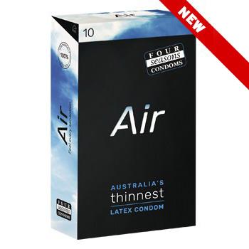 Four Seasons Air Thinnest Condoms FOR125 9312426006483