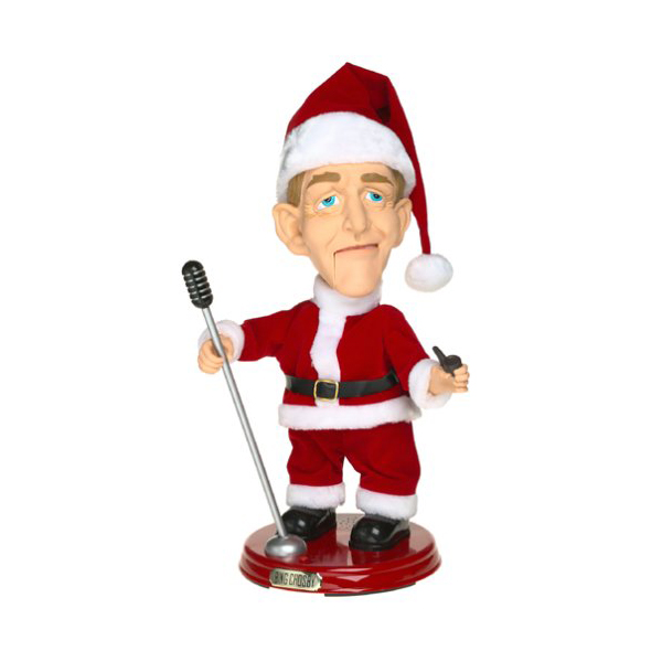 Gemmy Pop Bing Crosby Singing Christmas Animated Figure GM-XBC 9318051027893