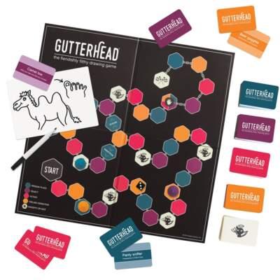 Gutterhead Game GUTT 726231 634158726231 Overhead Board Detail