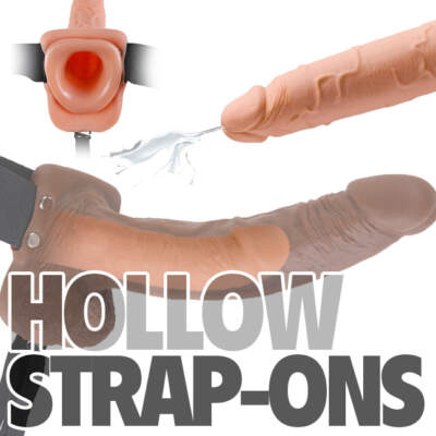 Hollow Strap-Ons for Him