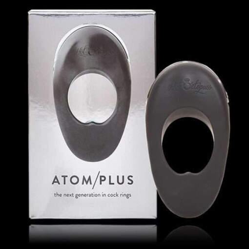 Hot Octopuss Atom Plus Dual Motor Vibrating Cock Ring Black 5060354560617 Multiview