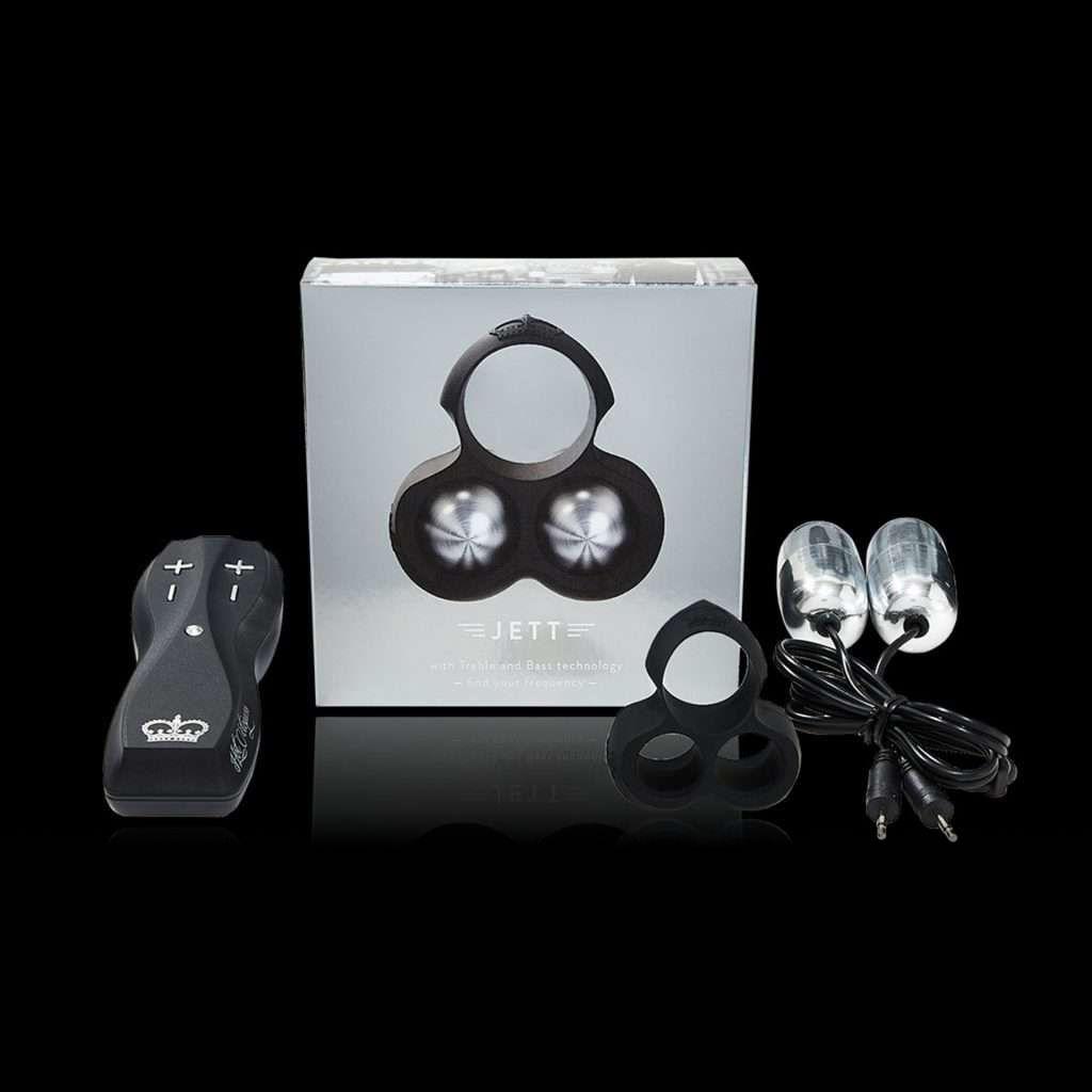 Hot Octopuss JETT Treble and Bass Penis Vibrator Black 5060354560662 Multiview