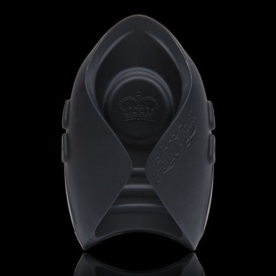 Hot Octopuss Pulse Solo Lux Wireless Remote Vibrating Pulse Stroker Black 5060354560693 Front Detail
