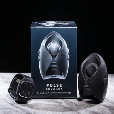 Hot Octopuss Pulse Solo Lux Wireless Remote Vibrating Pulse Stroker Black 5060354560693 Lifestyle Multiview
