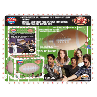 Hott Products Boobie Sports Boobie Football HP2602 818631026029