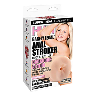 Hustler Toys Barely Legal Anal Stroker HT-P18 4890808178379