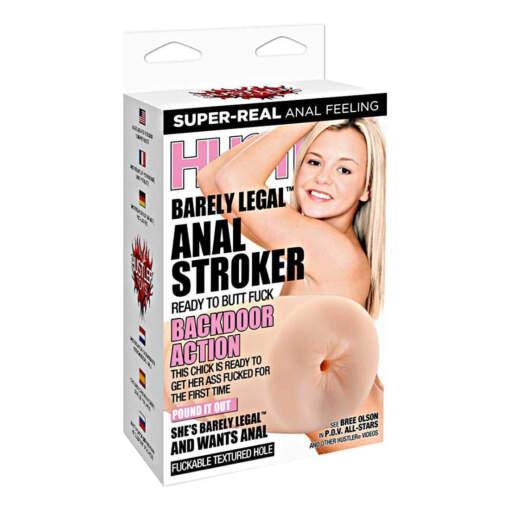 Hustler Toys Barely Legal Anal Stroker HT-P18 4890808178379