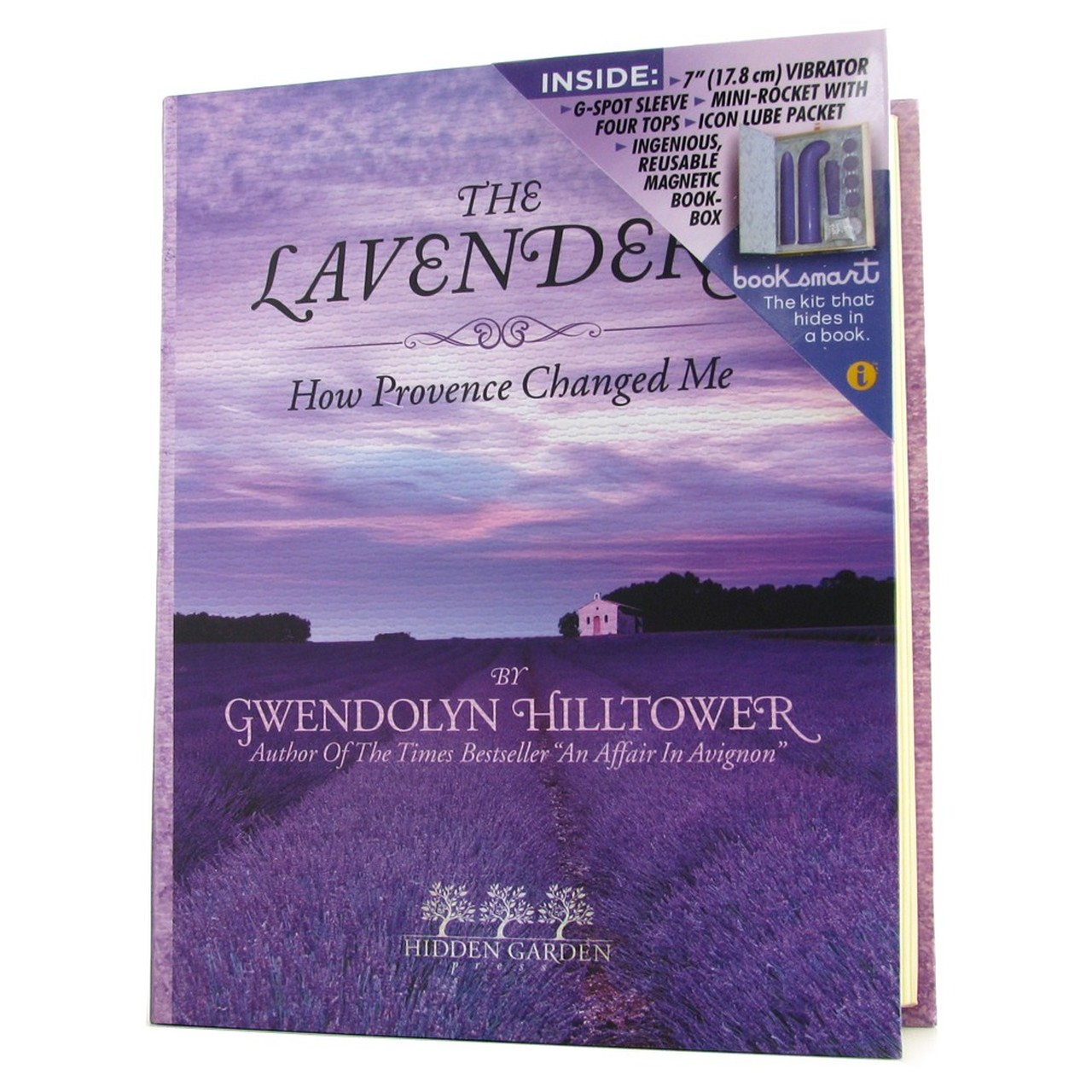 Icon Brands Hidden Garden The Lavenders Hollow Book Couples Kit Purple IC1052 2 847841010528 Boxview