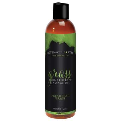 Grass Fresh Cut Grass 120ml Vegan Massage Oil