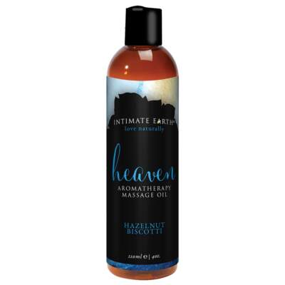 Heaven Hazelnut Biscotti 120ml Vegan Massage Oil