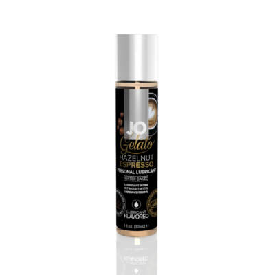 JO Gelato flavoured Water based lubricant HAZELNUT ESPRESSO 1oz 30ml 796494410219 Detail