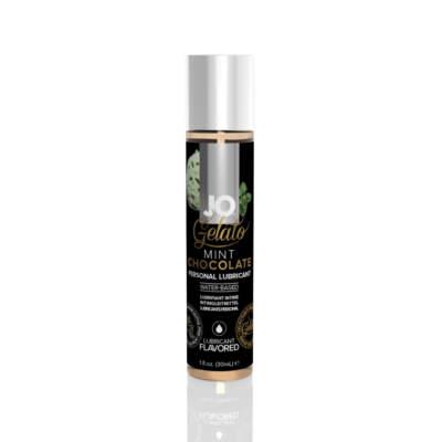 JO Gelato flavoured Water based lubricant MINT CHOCOLATE 1oz 30ml 796494410226 Detail