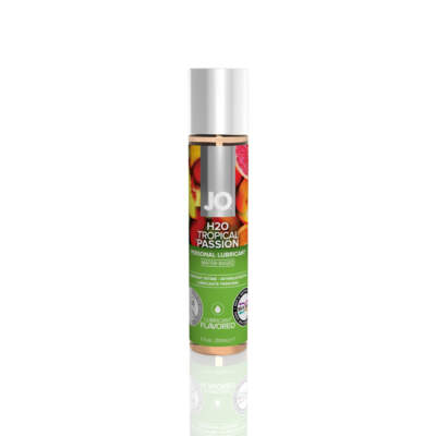 JO H2O FLAVORED LUBRICANT TROPICAL PASSION 1floz 30ml 796494101216 Detail