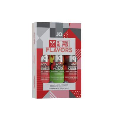 JO Tri Me Triple Pack Flavours 3x30ml 10060 796494100608 Detail