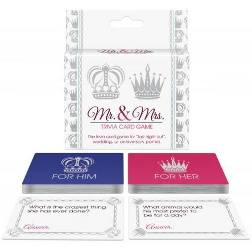 Kheper Games Mr and Mrs Trivia Card Game BG C49 825156108376 Multiview
