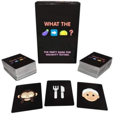 Kheper Games What The Eggplant Taco Emoji Card Game BG011 825156110263 Multiview