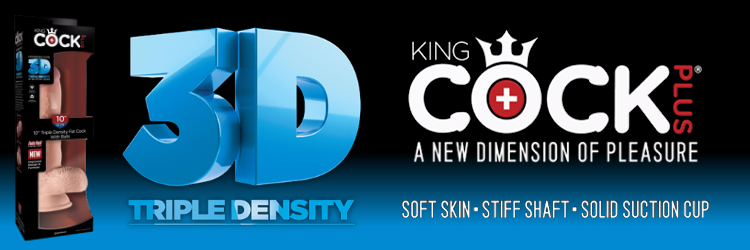 King Cock 3D 3 Up Banner
