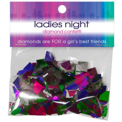 Ladies Night Out Hens Night Diamond Confetti PW010536 825156107737 Boxview