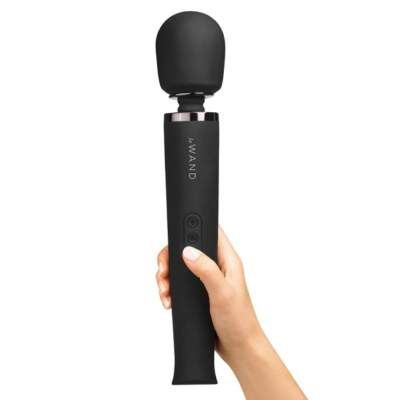Le Wand Le Wand Rechargeable Wand Massager Black LW 001BLK 4890808221808 Detail