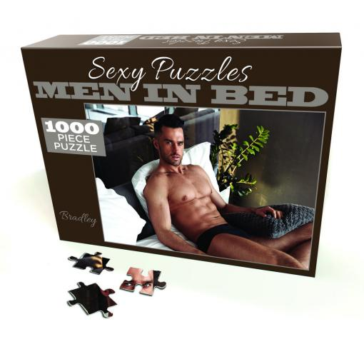 Little Genie 1000 piece Sexy Jigsaw Puzzle Sexy Male Photo Bradley LGP101 685634102124 Multiview