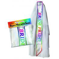 Little Genie Bride Pride Veil Sash NVC101 685634102216 Multiview