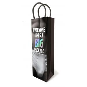 Little Genie Everyone Likes a Big Package Tall Gift Bag Black LGP 008 685634102568 Detail