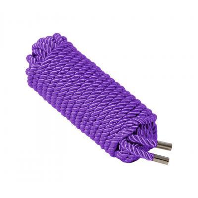 Love In Leather 10 metre silky silk satin luxury luxe bondage rope shibari fetish Purple ROP002PUR 1815160021623 Detail