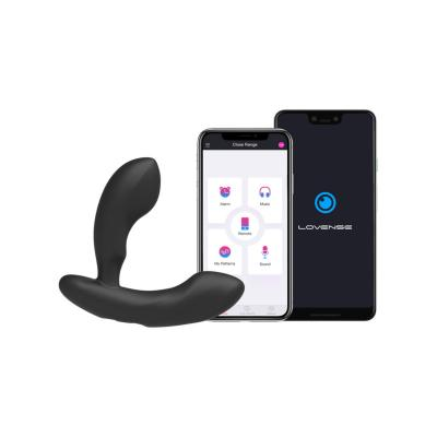 Lovense Edge Posable Smartphone App Enabled Prostate Massager Black LVNSEDG38 0728360599438 App Detail