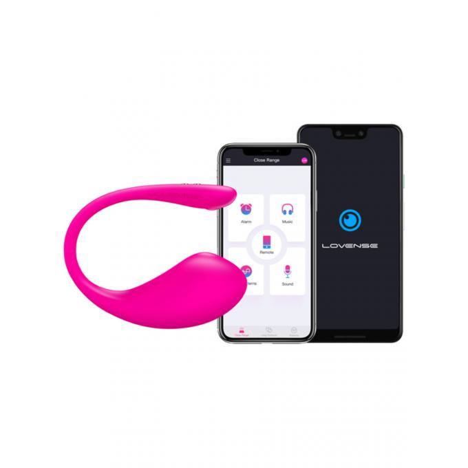 Lovense Lush3 App Enabled Egg Vibrator Pink 728360599728 Detail