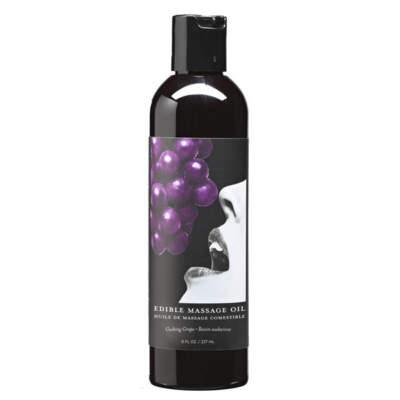 Grape flavoured Edible Massage Oil - MSE007 - 879959003307