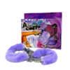 NMC Ankle Fluffy Cuff Purple Lavender 2N1441-2 4892503040753