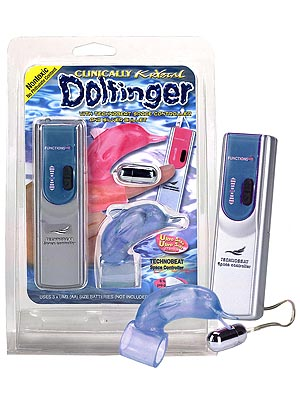 NMC Dolfinger Remote Bullet Vibrator with Sleeve Blue 2P992 4 4892503036558 Multiview