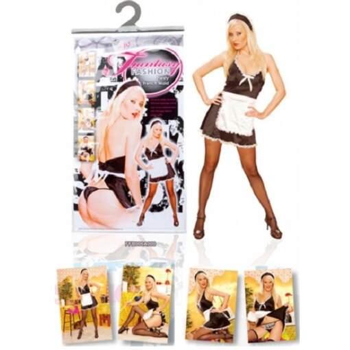 NMC Fashion Fantasy Feisty Fiesty French Maid Costume FFB006A000 4892503110425