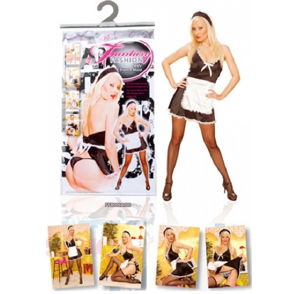 NMC Fashion Fantasy Feisty Fiesty French Maid Costume FFB006A000 4892503110425