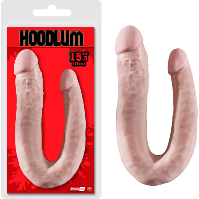 NMC Hoodlum 15.5 Inch Double Ender Dong Light Flesh F06J077A00-001 4897078623004